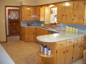 midcentury retro kitchen wood cabinets 300x225 - R.D. Move In/Out Clean
